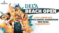 Start werving FIVB World Tour Beachvolleyball en World Cup Swimming