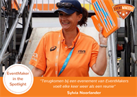 EventMaker in the Spotlight: Sylvia Noorlander